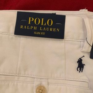 Polo White Slim Fit Chinos